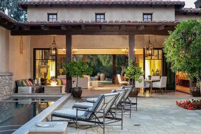 Rancho Santa Fe Single Family Home For Sale: 18512 Calle La Serra