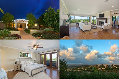 Solana Beach Single Family Home For Sale: 622-624 Ridgeline Pl