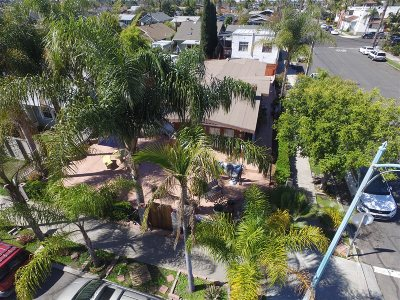 North Park, North Park - San Diego, North Park Bordering South Park, North Park, Kenningston, North Park/City Heights Single Family Home For Sale: 3644 30th Street