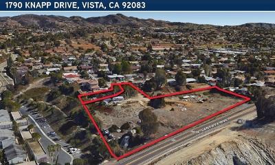 Vista Residential Lots & Land For Sale: 1790 Knapp Dr.