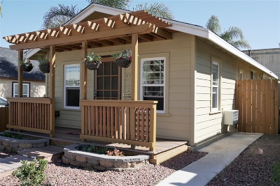 Normal Heights Single Family Home For Sale: 4521 38th St