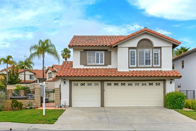 Vista Single Family Home For Sale: 1558 Roma Dr