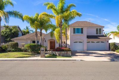 La Jolla Single Family Home For Sale: 5558 Avenida Fiesta