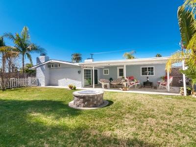 La Mesa Single Family Home For Sale: 6111 Howell