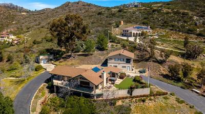 Poway Single Family Home For Sale: 14440 Golden Sunset Ln