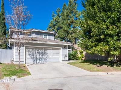 La Mesa Single Family Home For Sale: 6783 Alamo Court