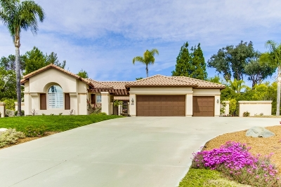 Poway Single Family Home For Sale: 16876 St. James Drive