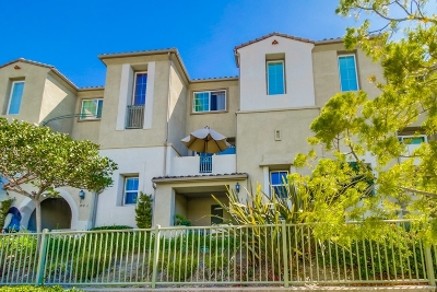 Chula Vista CA Townhouse For Sale: $385,000