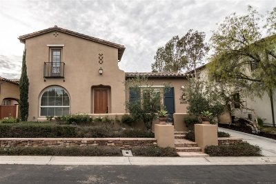 Santaluz Single Family Home For Sale: 14574 Luna Media
