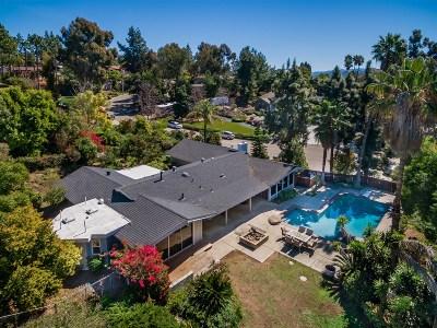 El Cajon Single Family Home For Sale: 1802 Shadow Knolls Pl
