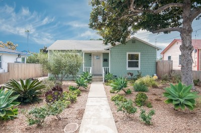 Oceanside CA Single Family Home For Sale: $799,000