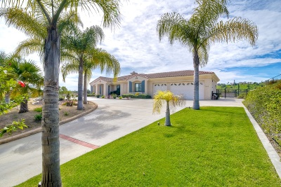 Single Family Home For Sale: 3645 Genista Place