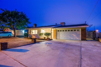 Escondido CA Single Family Home For Sale: $577,000