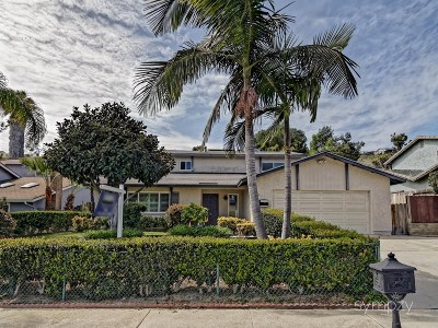 Carlsbad CA Single Family Home For Sale: $705,000