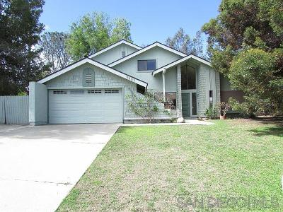 Carlsbad CA Single Family Home For Sale: $725,000