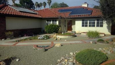 Escondido CA Single Family Home For Sale: $629,000