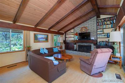 Del Mar Single Family Home For Sale: 1388 Via Alta