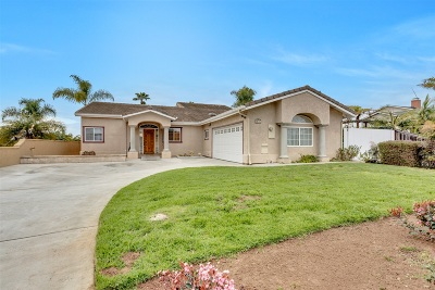 Carlsbad CA Single Family Home For Sale: $1,275,000