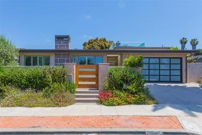 La Jolla Shores Single Family Home For Sale: 7967 Paseo Del Ocaso
