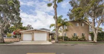 Single Family Home For Sale: 990 Cabrillo Avenue