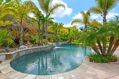 San Diego CA Single Family Home For Sale: $1,389,000