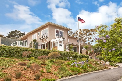 Solana Beach Single Family Home For Sale: 457 Glencrest Dr