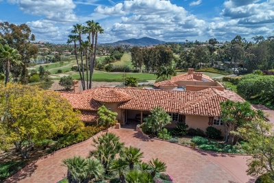 Rancho Santa Fe Single Family Home For Sale: 8192 St. Andrews Road