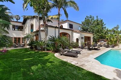 La Jolla Single Family Home For Sale: 6291 Camino De La Costa