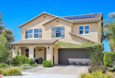 San Marcos Single Family Home For Sale: 1674 N Las Flores