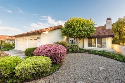 San Diego Single Family Home For Sale: 11729 Via Chona