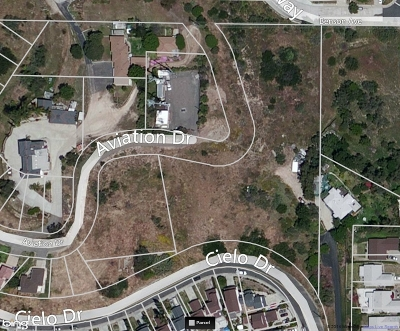 San Diego Residential Lots & Land For Sale: Lot Cielo Drive