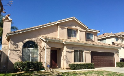 Murrieta CA Single Family Home For Sale: $399,000