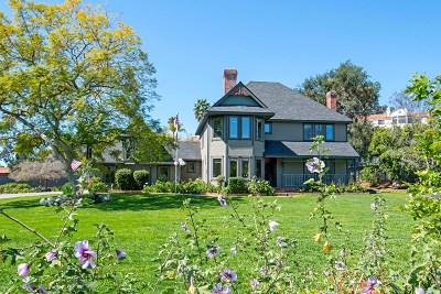 Vista Single Family Home For Sale: 2379 Monte Vista Dr