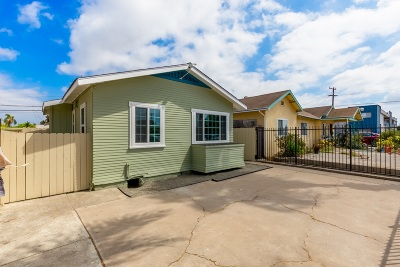 San Diego Single Family Home For Sale: 4115 Van Dyke Ave
