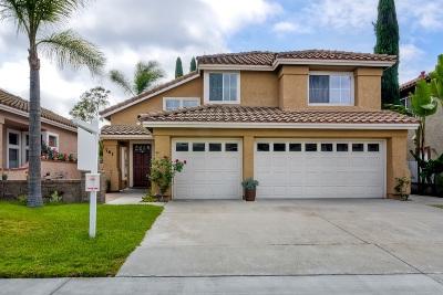Oceanside Single Family Home For Sale: 761 Mosaic Cir