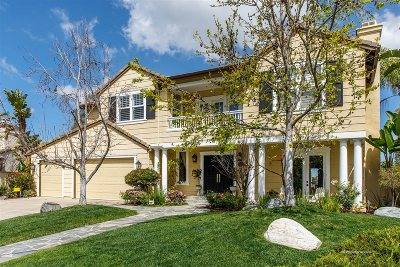 Carlsbad Single Family Home For Sale: 3602 Corte Luisa