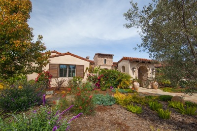 Santaluz Single Family Home For Sale: 7640 Iluminado
