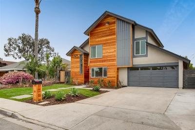 Encinitas Single Family Home For Sale: 118 Turner Ave