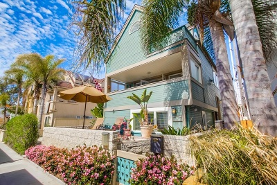 Pacific Beach, Mission Beach Single Family Home For Sale: 816 Redondo