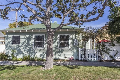 Coronado Single Family Home For Sale: 1215 10th Street