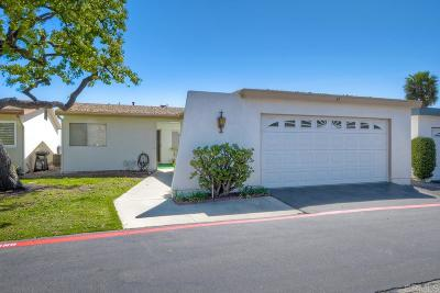 Oceanside Single Family Home For Sale: 3890 Vista Campana S #37