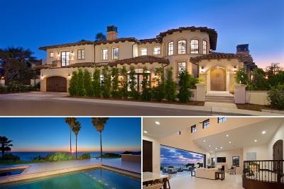 La Jolla Single Family Home For Sale: 5490 Calumet Ave