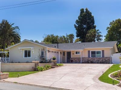 Single Family Home For Sale: 1127 Pepper Tree Lane