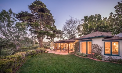 Del Mar Single Family Home For Sale: 1135 Crest Rd