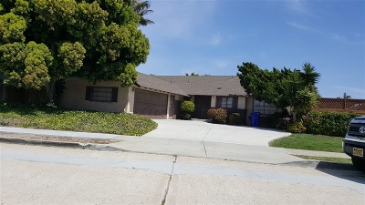 Pacific Beach, Mission Beach Single Family Home For Sale: 3535 Promontory Street