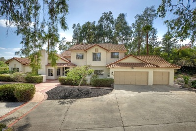 Poway Single Family Home Contingent: 15484 Willow Ranch Trl