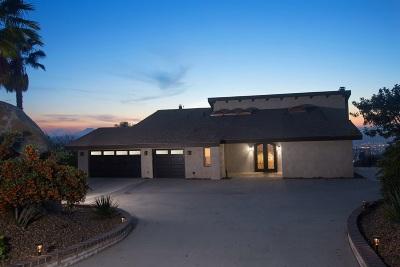 Single Family Home For Sale: 1238 Vista Del Monte Dr