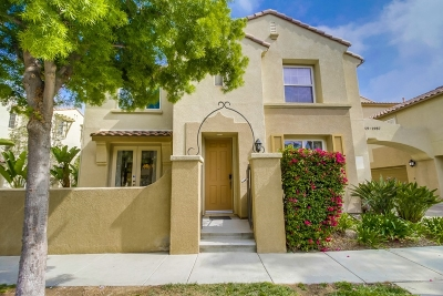 Chula Vista Townhouse For Sale: 1969 Caminito De La Cruz
