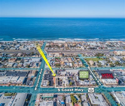 Oceanside Multi Family 5+ For Sale: 619 S Coast Highway