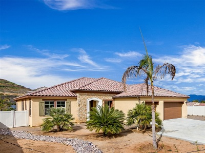 Single Family Home For Sale: 5777 Rancho Del Caballo